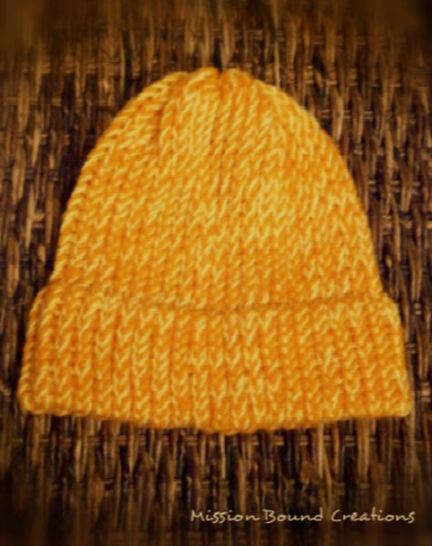 Basic Loom Knit Hat Loomahat