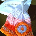 Loom Knitting Video - Flower