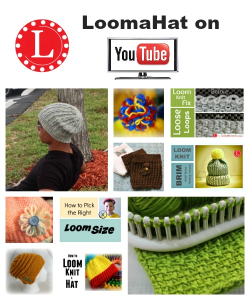 Loom Knitting Video List Of Many Easy Projects