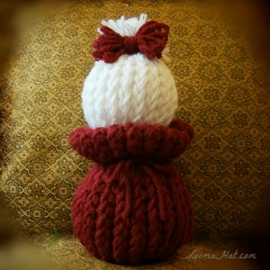 Loom-Knit-Doll