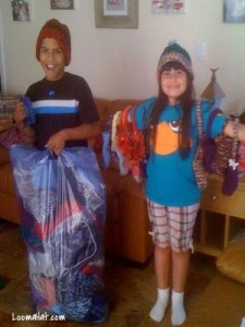 Loom Knitting Kids