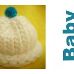 How to Loom Knit a Preemie Hat for a Baby