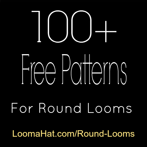Round-loom-patterns-100 - LoomaHat.com