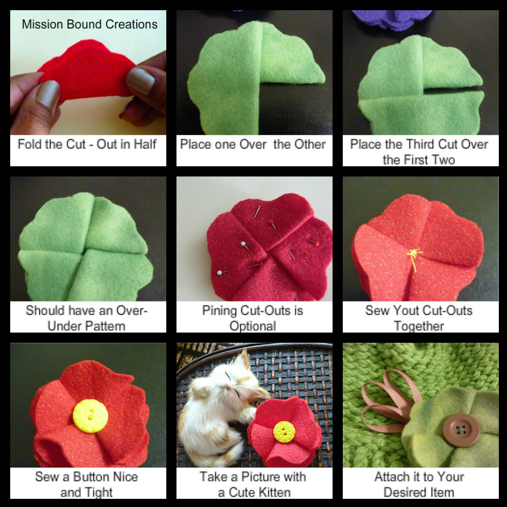 How To Make Fabric Flowers Loomahat