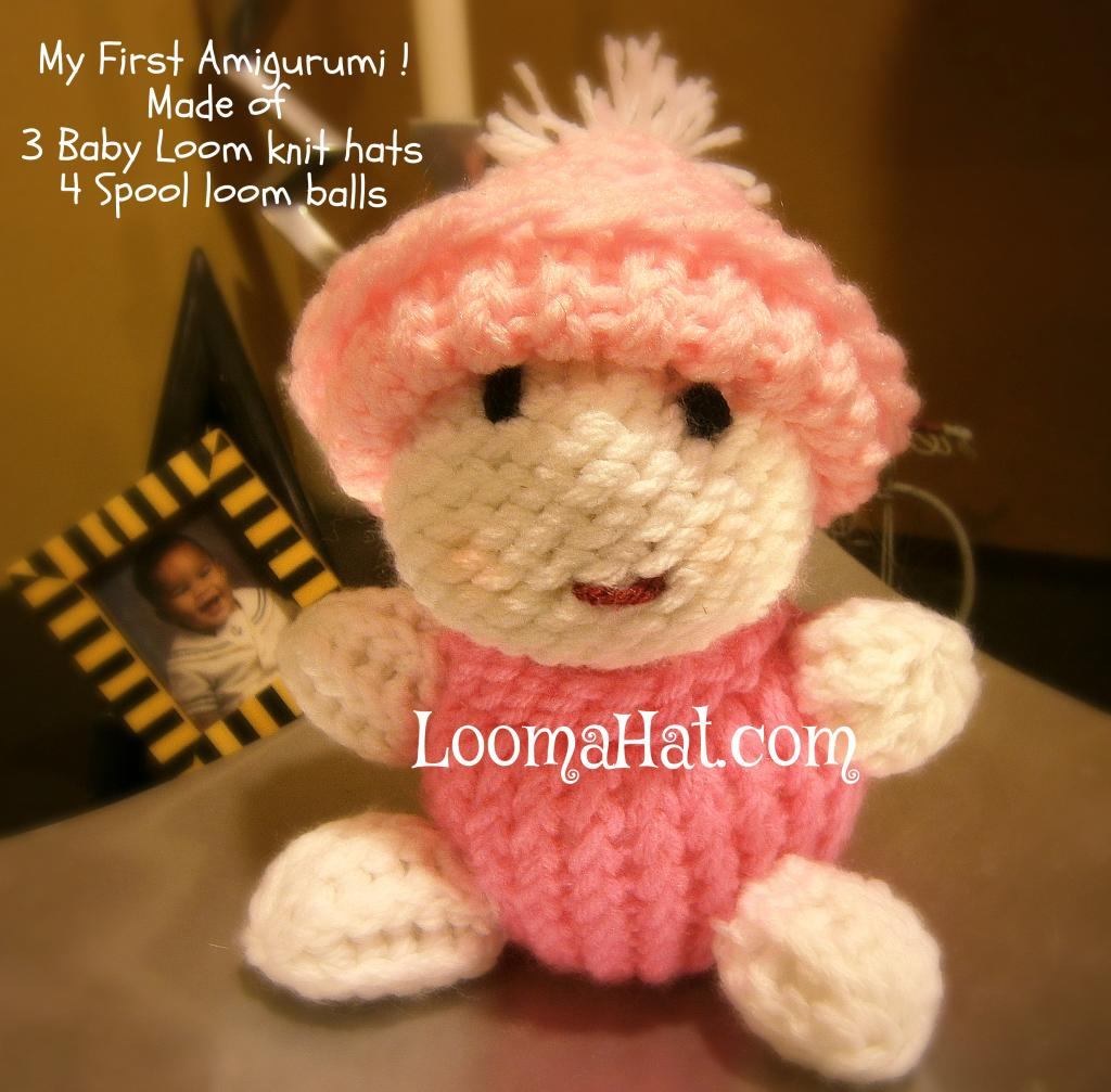 Knitting Amigurumi For Beginners : Amigurumi Dolls - LoomaHat.com
