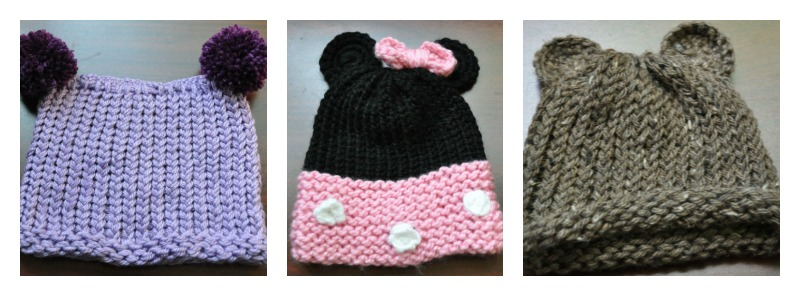 Loom Knitting Baby Hat Patterns : How to loom knit a preemie hat for baby loomahat