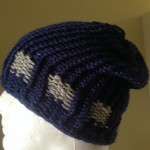 Loom Knit Hat Belt Loop