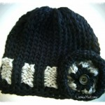 Loom Knit Hat – The Belt Loop Hat