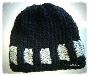 Loom-Knit-Hat