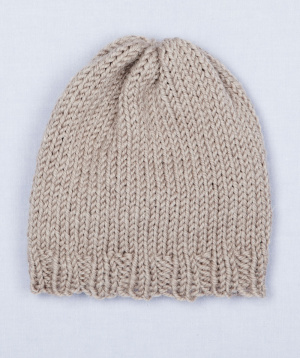 Simple Hat Knitting Pattern In The Round : Loom Hat Patterns - 65 FREE Patterns - LoomaHat.com