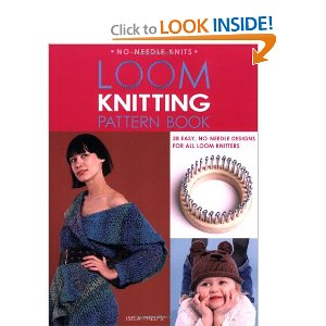 Book Loom Knitting Pattern Book Loomahat Com