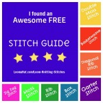 Loom Knitting Stitches – A Guide by Isela Phelps