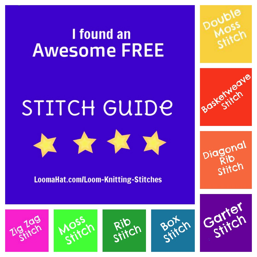 Loom-Stitch-Guide-Collage - LoomaHat.com