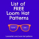 Loom-hat-patterns