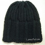 Mens Knit Hat – The Parthenon – FREE PATTERN