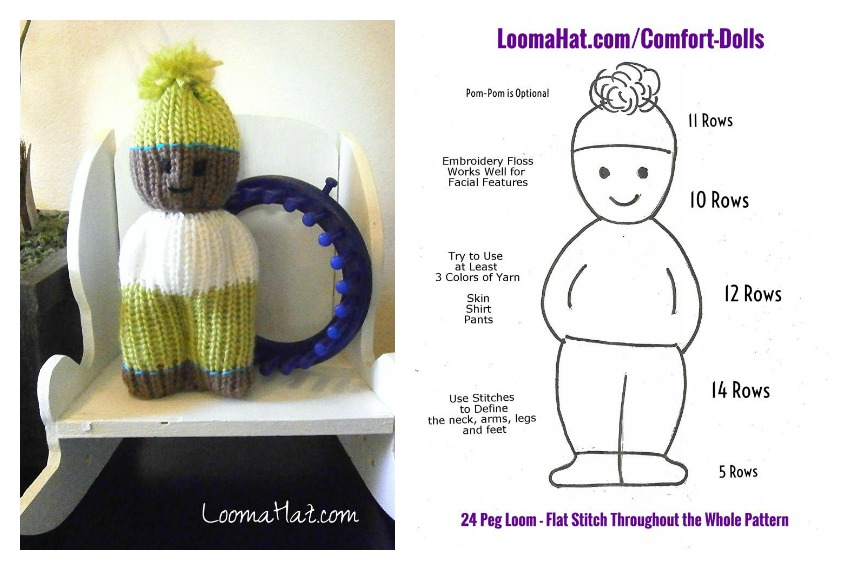 Comfort Dolls Free Pattern And Video Tutorial