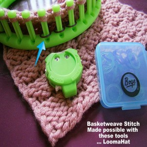 Boye Loom Knitting Stitches : Boye Stitch Markers - Use on Loom as Peg Markers