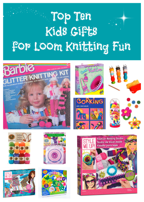Loom Knitting For Kids : Top ten kids gifts for loom knitting loomahat
