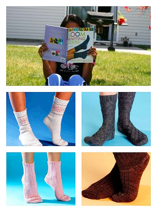 Book Sock Collage Loomahat Com