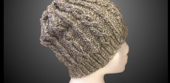Slouchy Hat Pattern & Video: Chain Links – FREE