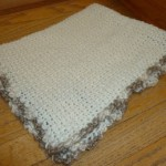 Loom Knit Baby Blanket – Full Size One Piece on Round Loom