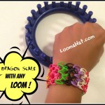 Rainbow Loom Dragon Scale Bracelet – FREE Pattern & Video