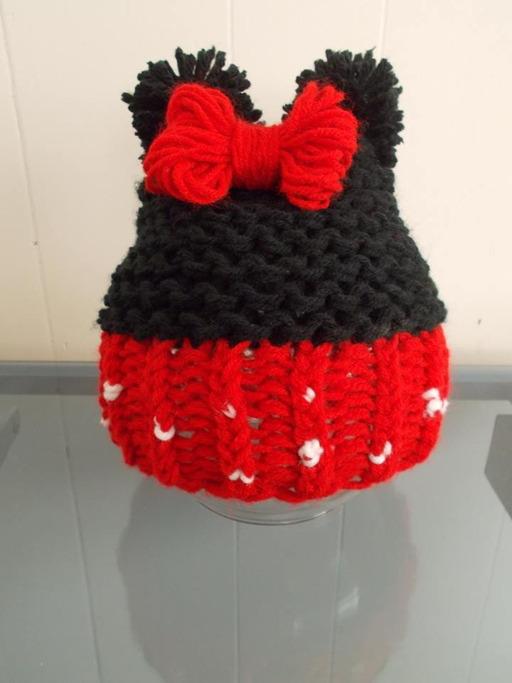 Minnie Mouse Hat By Jack Sherman Loomahat