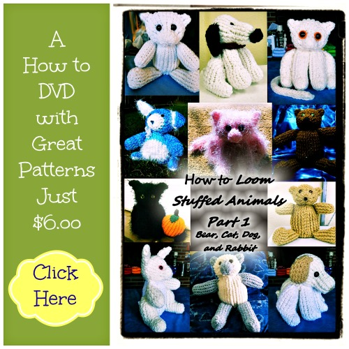 Loom KNit Stuffed Animals