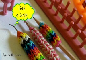 How to Make a Grip for Your Hook - Pencil on a Loom