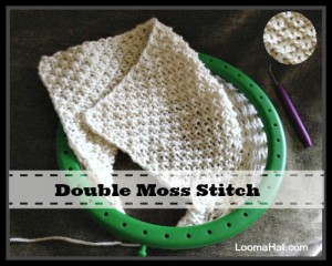 Double Moss Stitch for Circular and Flat Panel 42c9777031d