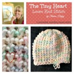Tiny Heart Stitch – FREE Pattern, Picture and Video Tutorial