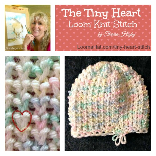Loom Knitting Stitches For Beginners : Loom knitting Stitch - Stitches