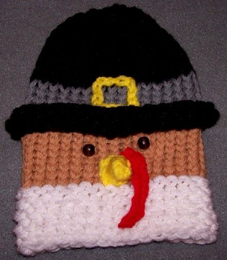 Loom Knit Turkey Hat Loomahat