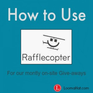 How to Use Rafflecopter for the KNit and Purl Tool