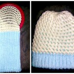 Reversible Hat Free Loom Knit Pattern
