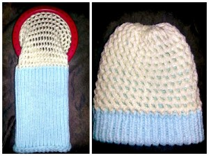 Free Knitting Pattern Reversible Hat : Loom Knit Hat Patterns - LoomaHat.com