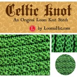 Celtic Knot Stitch for the Loom