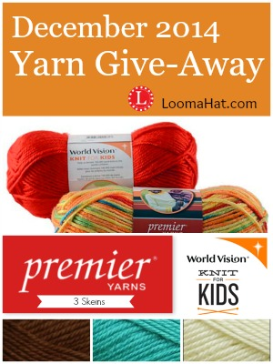 Yarn Giveaway December 2014