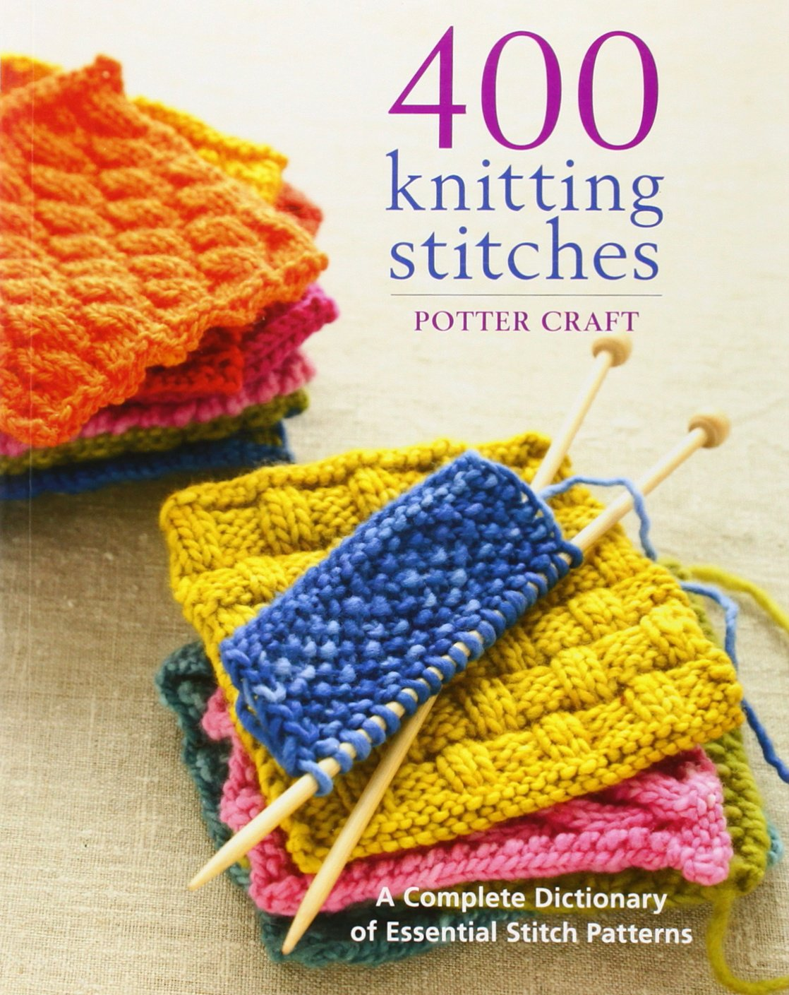 Knitting Rib Stitch For Beginners : 400 Knitting Stitches - LoomaHat.com