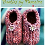 Baby Booties by Tamaira