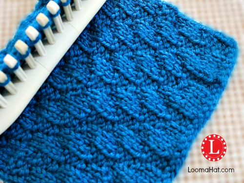 Loom Knitting PATTERN The Diagonal Stitch by LoomaHat eBay