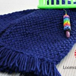 Loom Knit Scarf on Any Loom for Beginners