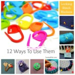 Locking Stitch Markers – 12 Ways to Use Them