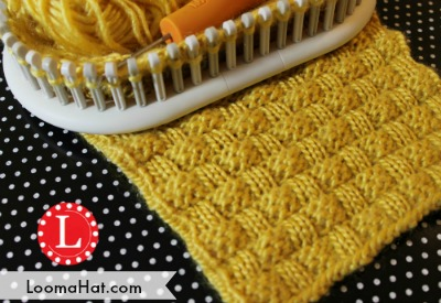 Basket Weave Stitch On A Loom