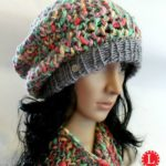 Slub Yarn Slouchy Hat & Cowl FREE Pattern for the Loom