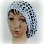 Three Step Stitch Slouchy Hat