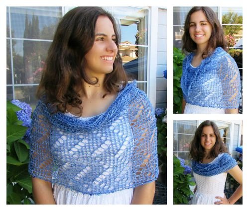 Moondance Capelet Free Loom Knit Pattern