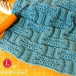 Double Basket Stitch Pattern and Video