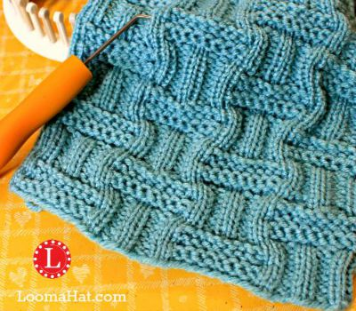 Knitting Stitches Weaving : Loom Knit Stitches Directory of FREE Patterns with Video