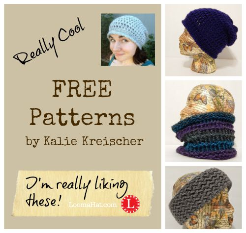 Kalie Kreischer Free Loom Patterns